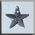 12061 - 5 Pointed Star Crystal 10mm - 1 per pkg